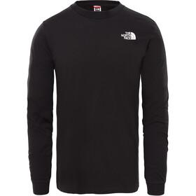 The North Face Simple Dome Longsleeve T-shirt Heren, zwart